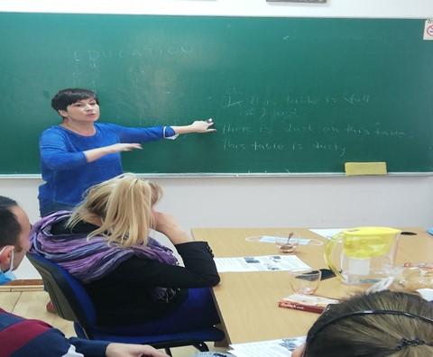 Припремни часови енглеског језика за учеснике Еразмус пројекта мобилности