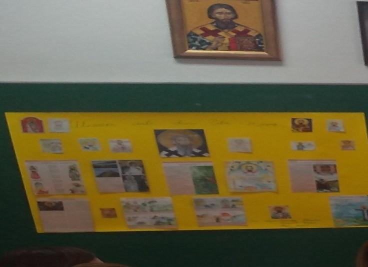 Обележена школска слава, Свети Сава у Основној школи за образовање одраслих